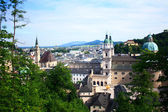 The city of Salzburg - a cultural center in Austria. — Stock Photo