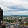 Stock Photo: Edimburgh Castle, view from walls