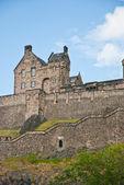 Edimburgh 城堡 — 图库照片