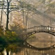 Old bridge. - Stock Photo