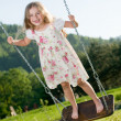 Royalty-Free Stock Photo: Swing ride