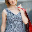 Beautifull woman with shopping bags — Stock Photo #5711744