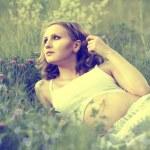 Pregnant girl — Stock Photo #6121759