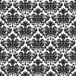 Seamless Damask pattern - 图库矢量图片
