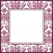 Stock Vector: Vintage ornate frame