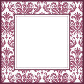 Vintage ornate frame — Stock Vector