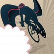 Royalty-Free Stock Vector Image: Sport Template Poster Cycling