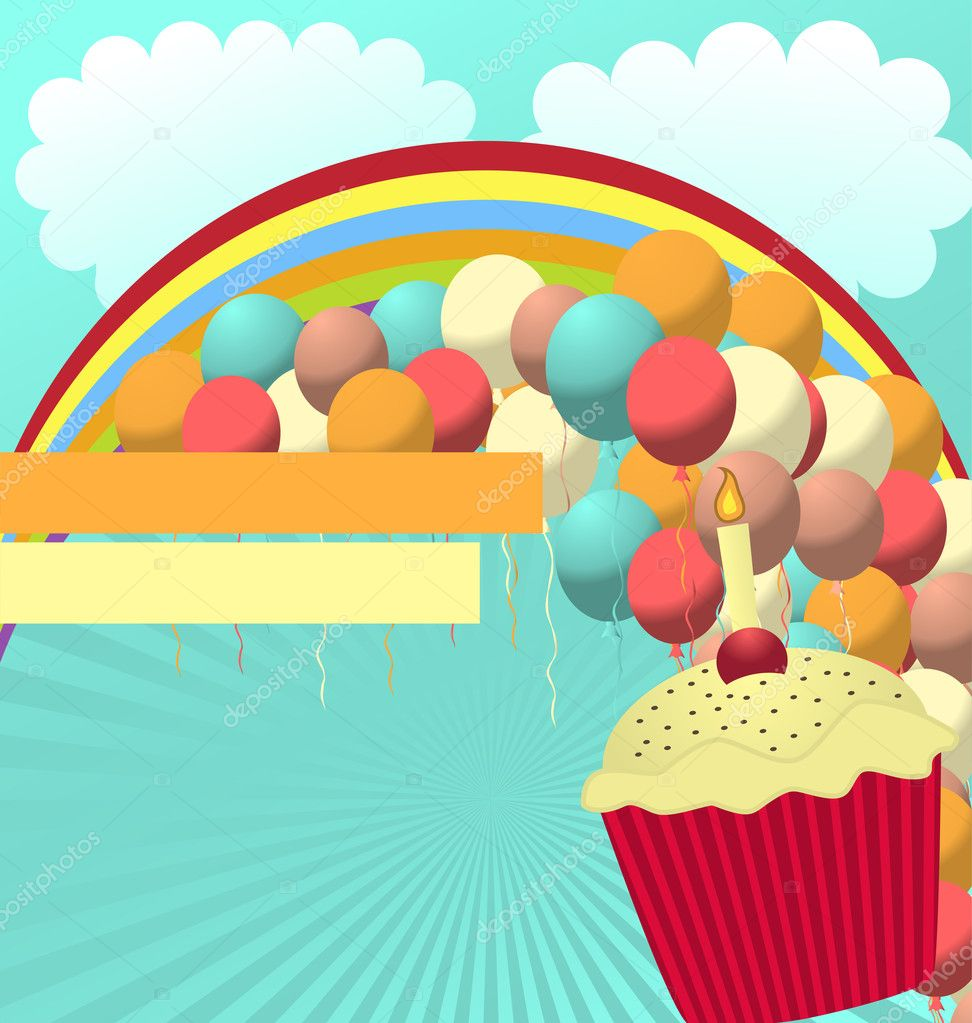 birthday card vector template stock vector © shockymocky 5944604 birthday card vector template stock illustration