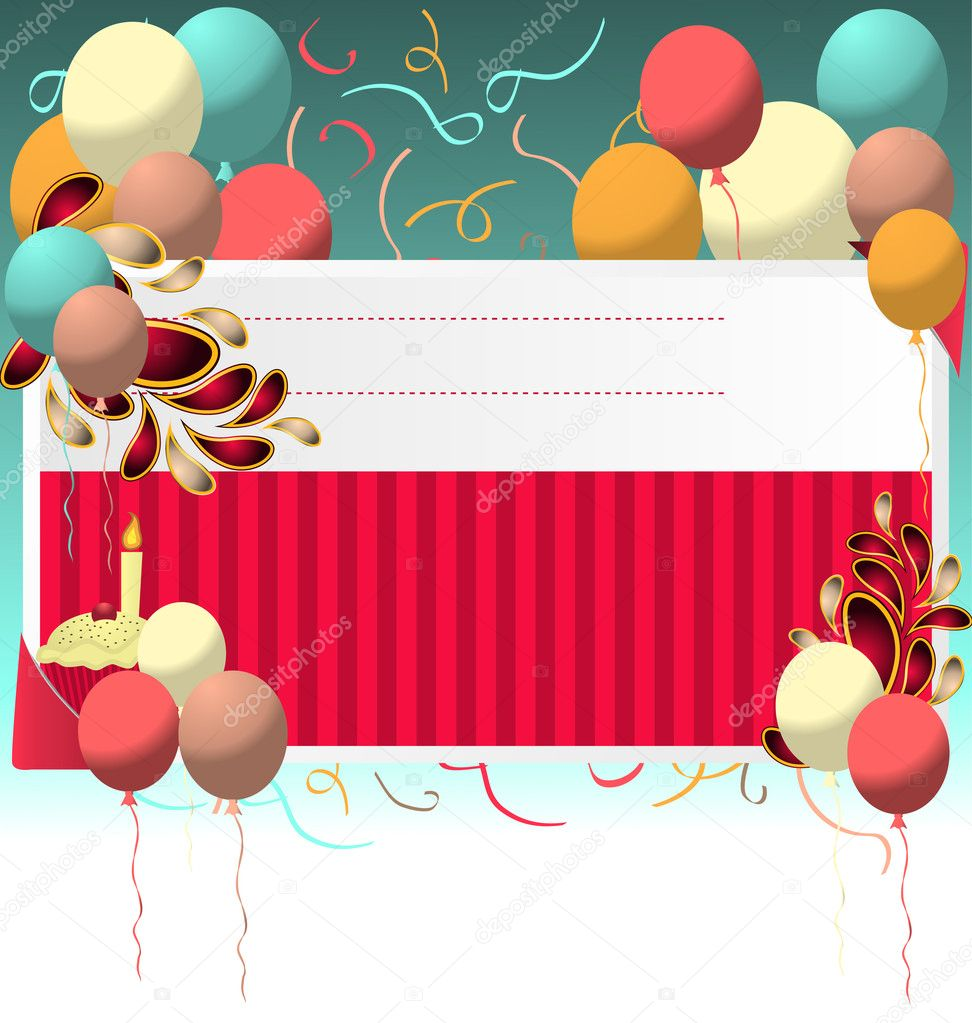birthday card templates .