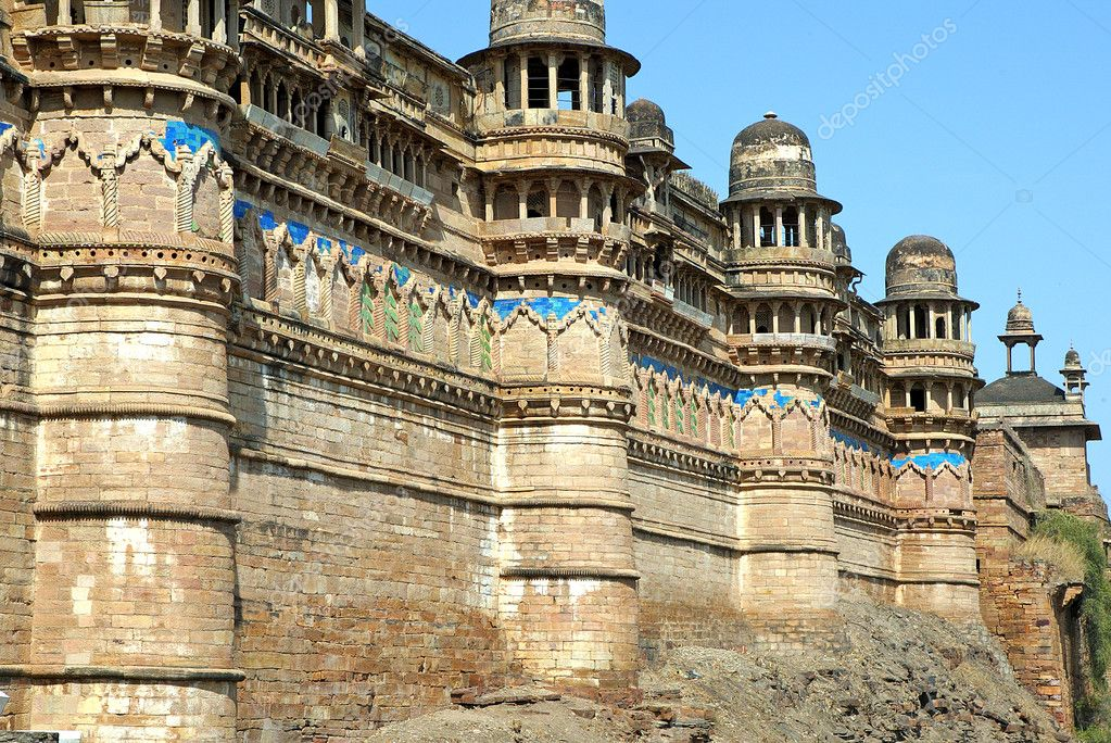 Gwalior India Photos Gwalior Fort Historic Fortress Gwalior India Photo by Ajlber
