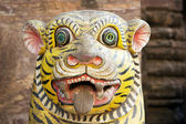 Tiger from the Tiger Gate, Vyaghradwara, at the Jagannath Temple in Puri — Stock Photo