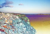 The Caldera, Thira, Santorini island — Stock Photo