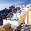 Thira, Santorini island, Cyclades, Greek — Stock Photo