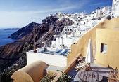 Thira, Santorini island, Cyclades, Greek — Stock Photo