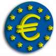 Stock Photo: Euro monetary symbol