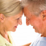 Nice elderly couple — Stock Photo #5759780