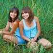 Royalty-Free Stock Photo: Two beautiful sisters