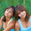 Two beautiful sisters — Stock Photo #5760010