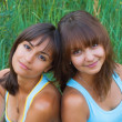 Two beautiful sisters — Stock Photo #5760017