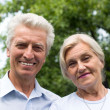 Nice elderly couple — Stock Photo #5760531