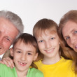 Grandparents and grandsons — Stock Photo #5767792