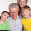 Grandparents and grandsons — Stock Photo #5767857