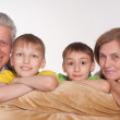 Grandparents and grandsons — Stock Photo #5767897