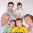 Grandparents and grandsons — Stock Photo #5768130