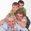 Grandparents and grandsons — Stock Photo #5768187