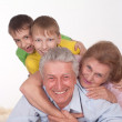 Grandparents and grandsons — Stock Photo #5768196