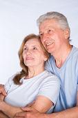 Joli couple de personnes âgées — Photo