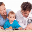 Nice family lying — Stock Photo #5949045