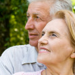 Royalty-Free Stock Photo: Cute elderly couple