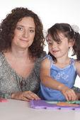 Mama z córką — Zdjęcie stockowe