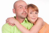 Lovely couple posing — Stock Photo