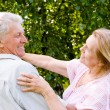 Elderly couple dance — Stock Photo #6024851