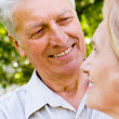 Cute elderly couple — Stock Photo #6024879