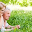 Nice elderly couple — Stock Photo #6026039