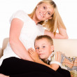Happy mom and son — Stock Photo #6026528