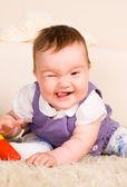 Retrato de bebé ncie — Foto de Stock