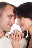 Szczęśliwa para ładne — Zdjęcie stockowe