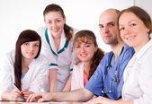 Doctors on meeting — Stock Photo