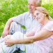 Cute old couple — Stock Photo #6153755