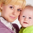 mother and baby — Stock Photo