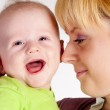 Mom and her baby — Stock Photo #6154917