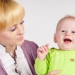 Mom and a baby — Stock Photo #6154924
