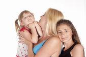 семья из трех — Стоковое фото