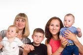Rodziny z pięciu — Zdjęcie stockowe
