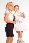 Madre y su hija — Foto de Stock