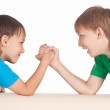 Two boys playing — Stock Photo #6282634
